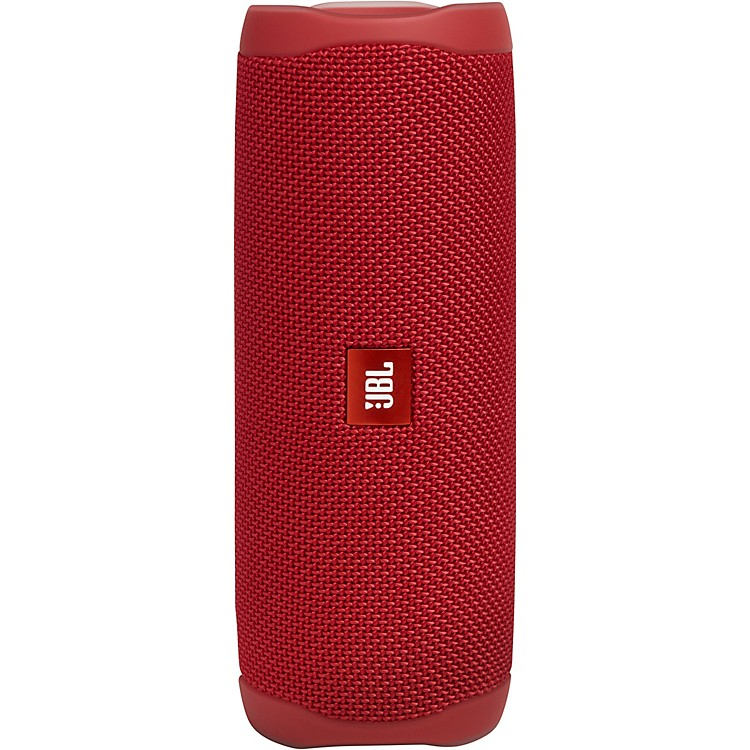 JBLFLIP 5 Waterproof Portable Bluetooth Speaker w/ built in battery and microphoneRed
