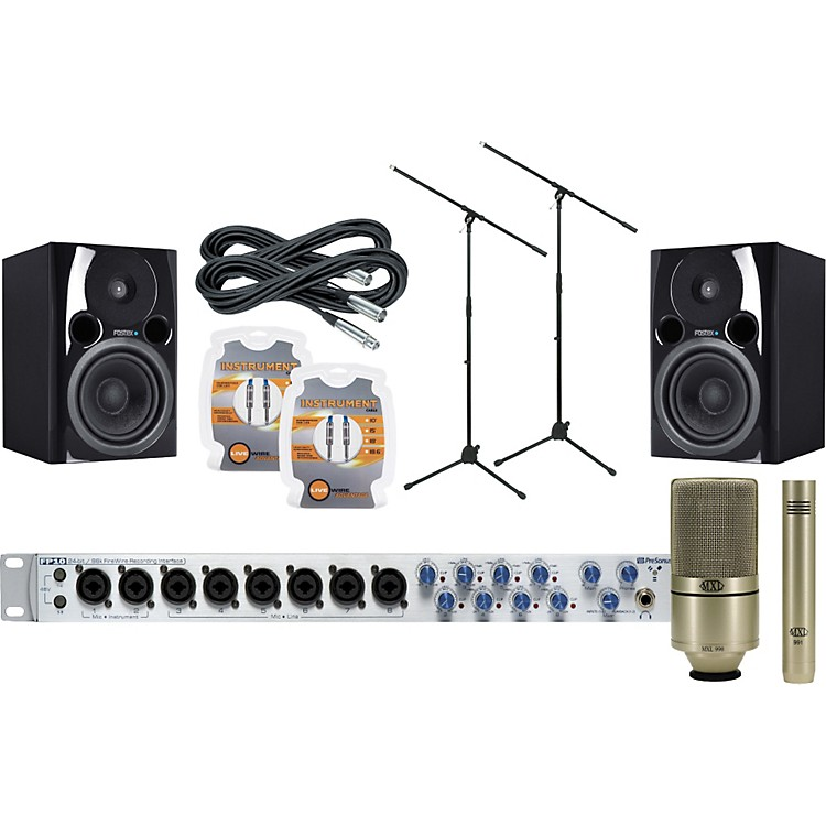 presonus fp10 recording package music123. Black Bedroom Furniture Sets. Home Design Ideas