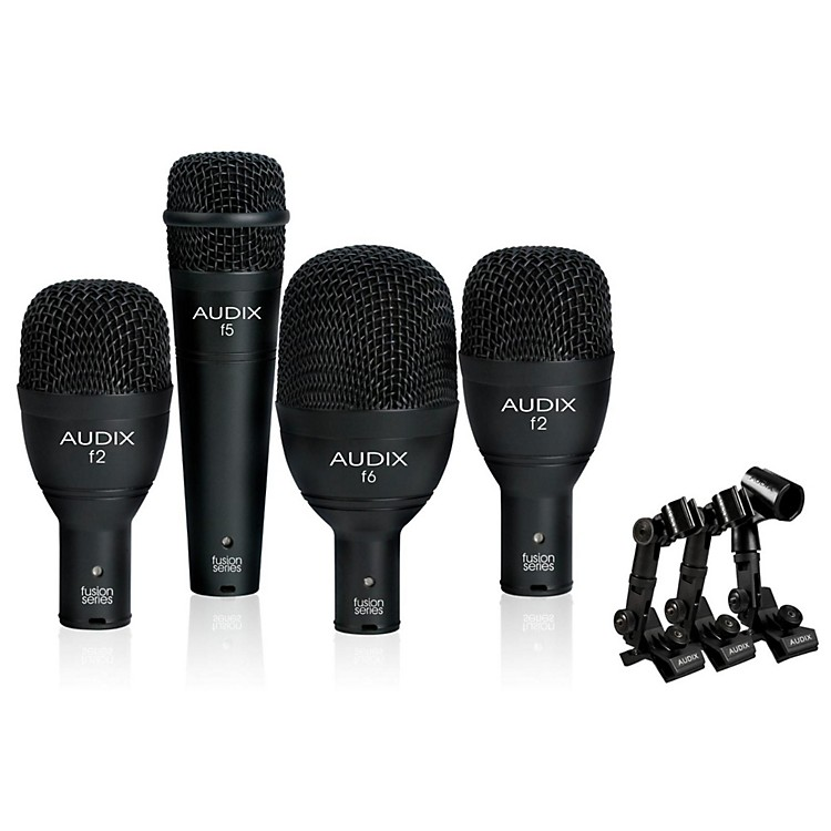 Audix FP4NC 4-Piece Drum Microphone Pack