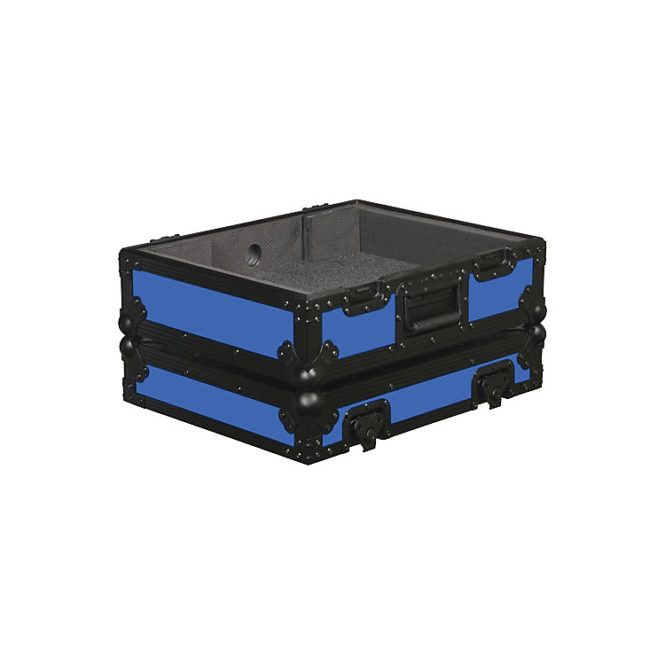 Odyssey FR1200BK Designer Series Turntable Case Blue