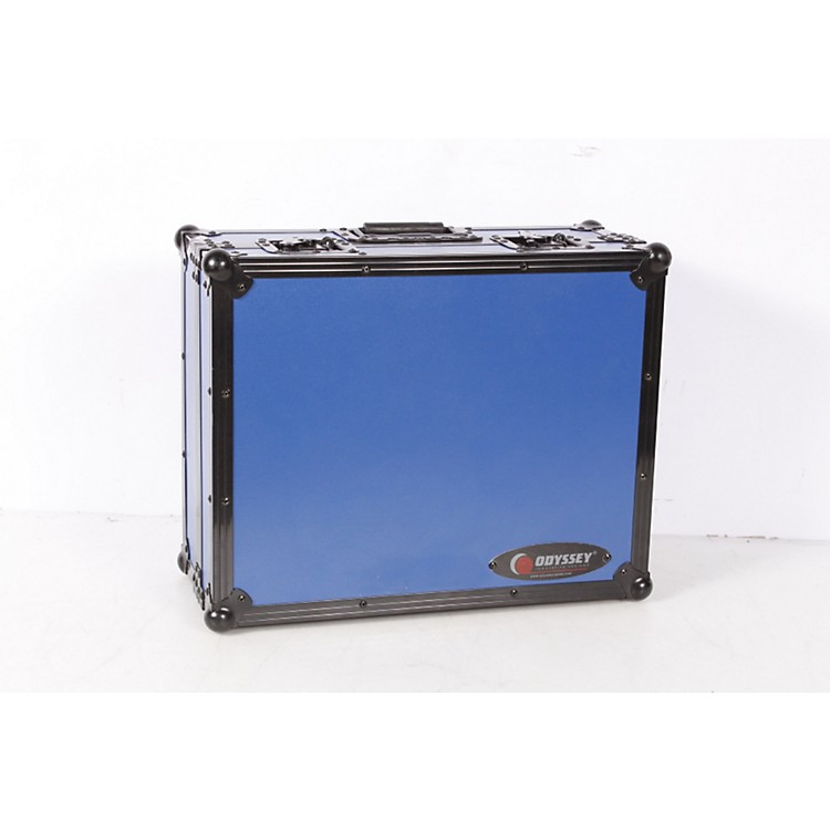 OdysseyFR1200BK Designer Series Turntable CaseBlue886830546990
