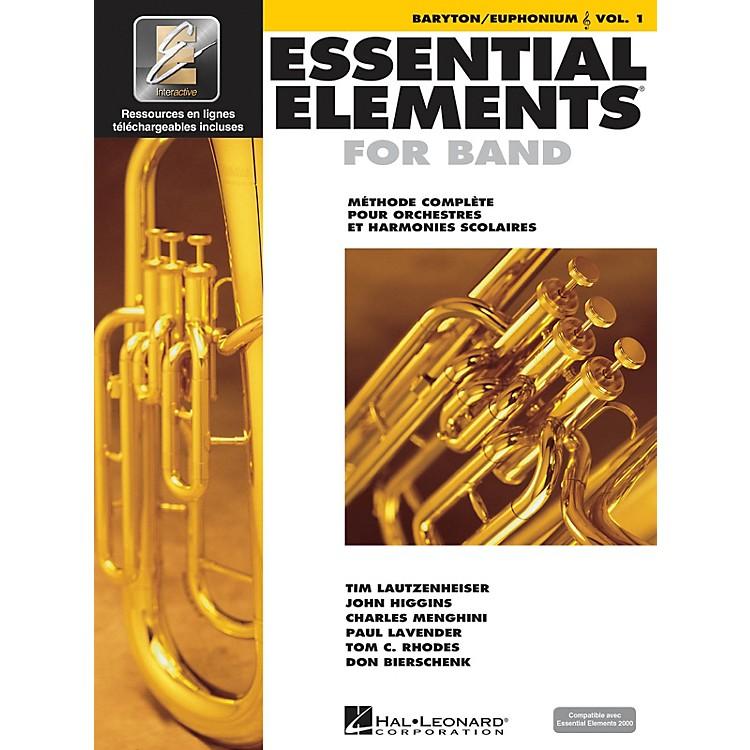 Hal LeonardFRENCH EDITION Essential Elements EE2000 Baritone/Euphonium T.C. (Book/Online Media)