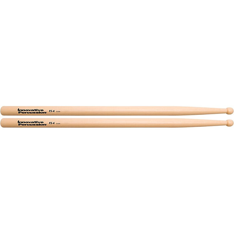 Innovative PercussionFS-4 Hickory Marching Snare Drum StickWood