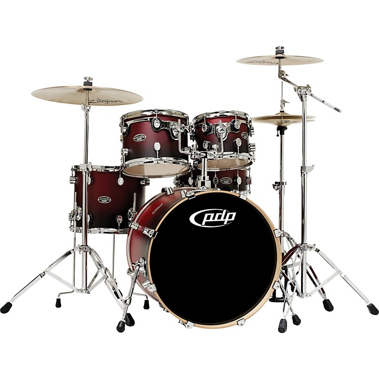 PDP by DW FS 5-Piece Shell Pack Cherry Fade