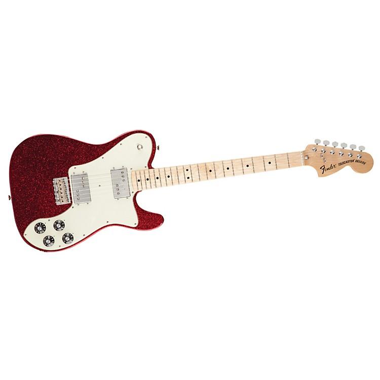 FenderFSR 1972 Telecaster Deluxe Electric GuitarApple Red FlakeMaple Fingerboard