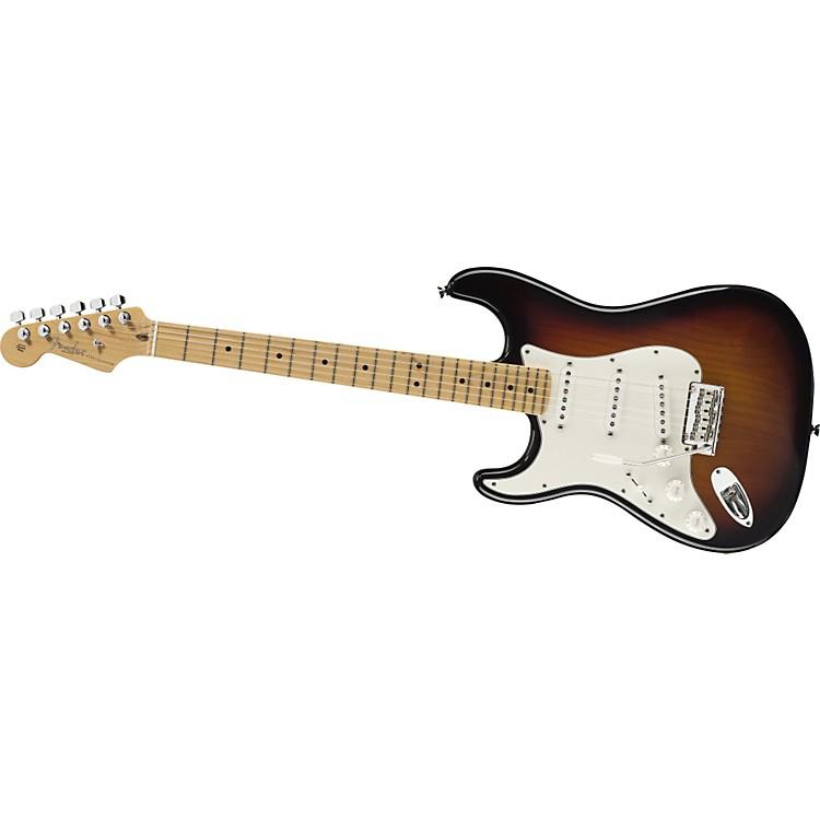 FenderFSR American Standard Stratocaster Left-Handed Electric Guitar with Maple Fingerboard2-Color Sunburst