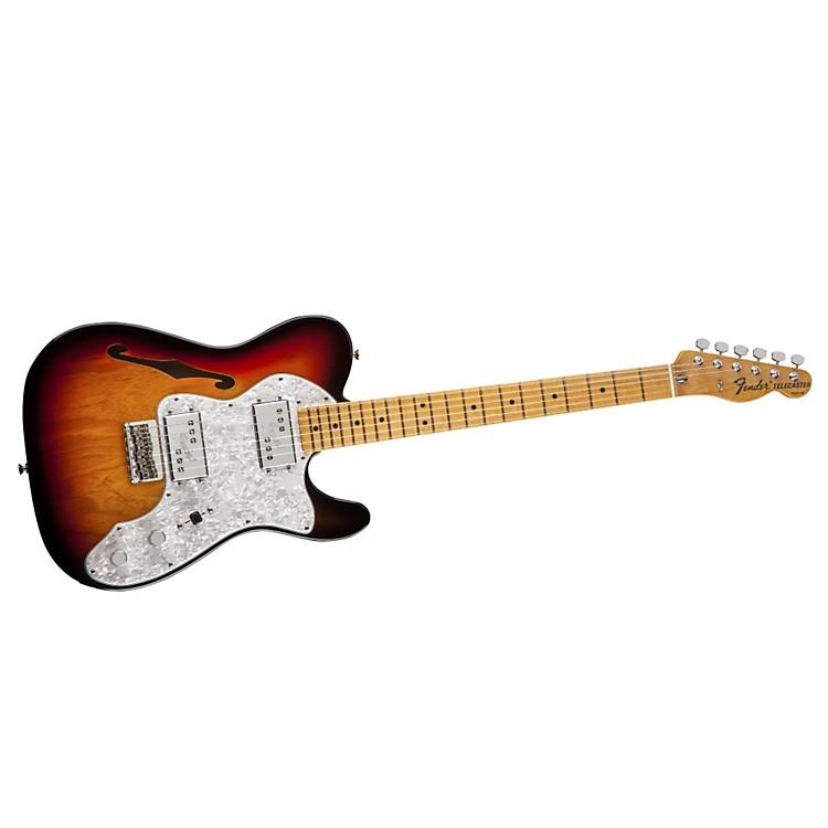FenderFSR American Vintage '72 Telecaster Thinline Electric Guitar3-Color SunburstMaple Fingerboard