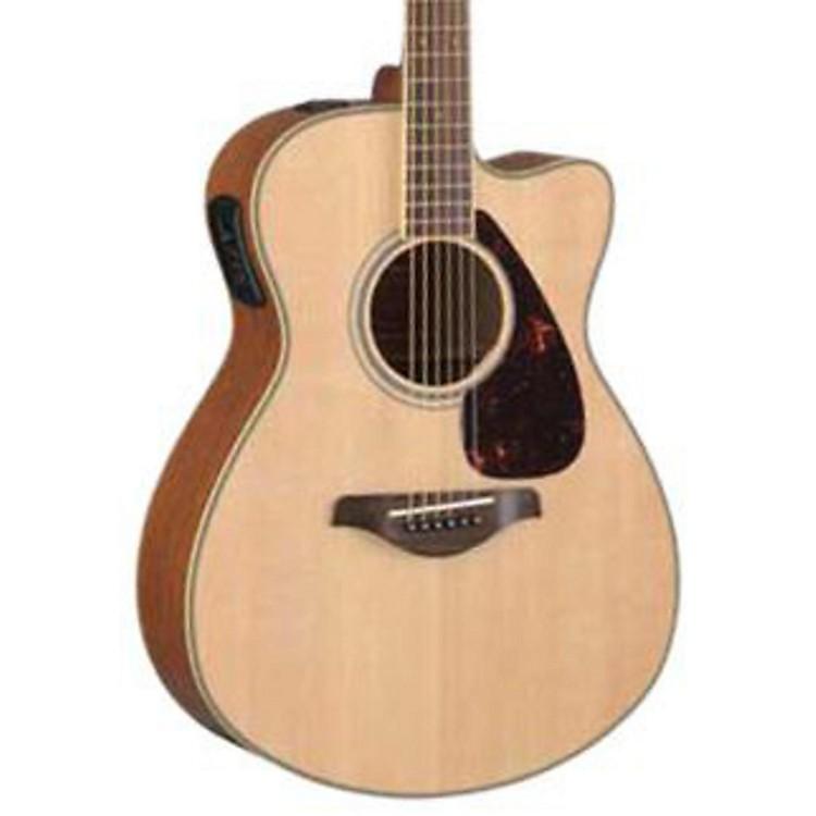 YamahaFSX720SC Solid Top Concert Cutaway Acoustic-Electric GuitarBlack888365819679