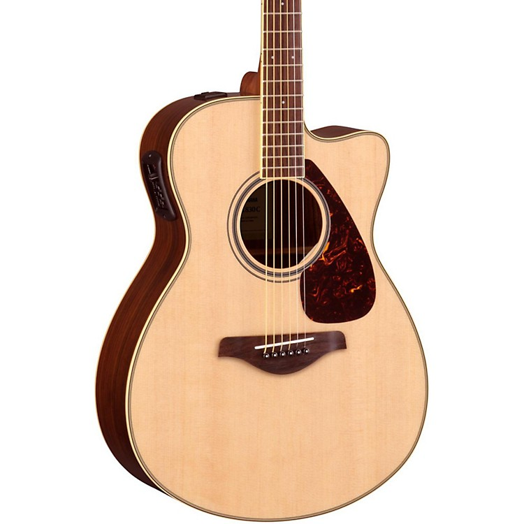 Yamaha FSX830C Acoustic-Electric Guitar Natural