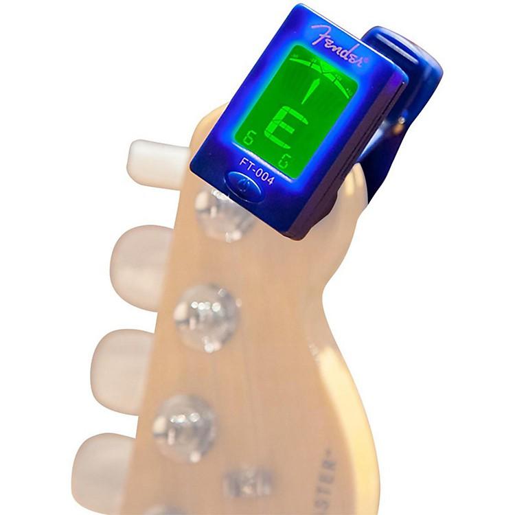 FenderFT-004 Clip-On Chromatic TunerWhite