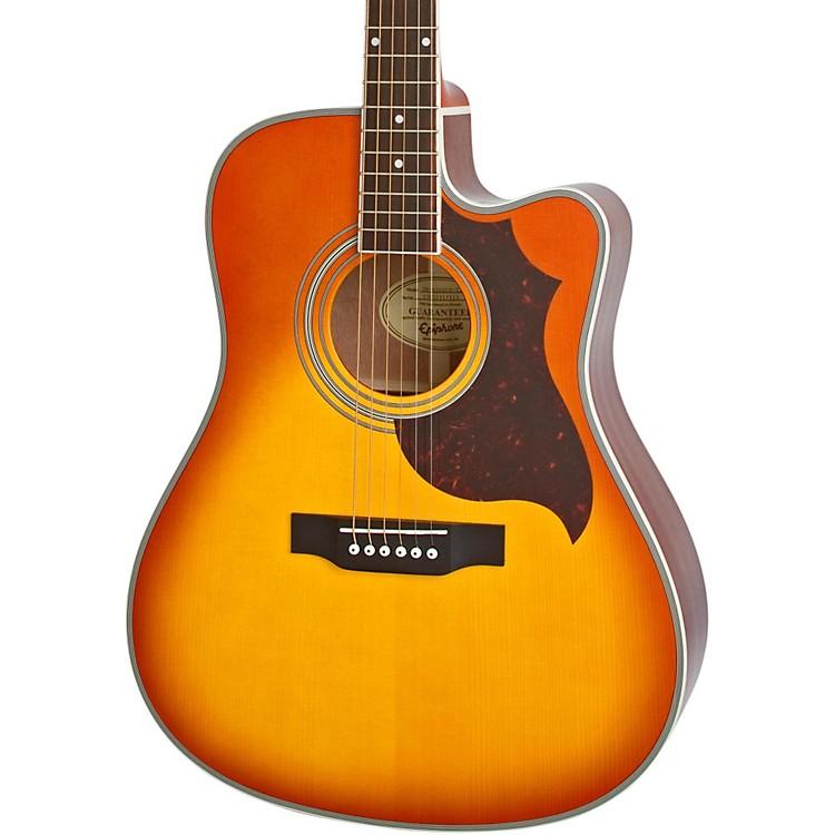 EpiphoneFT-350SCE Acoustic-Electric Guitar with Min-EtuneViolinburst