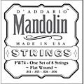 D'AddarioFW74 Flatwound Medium Mandolin Strings thumbnail