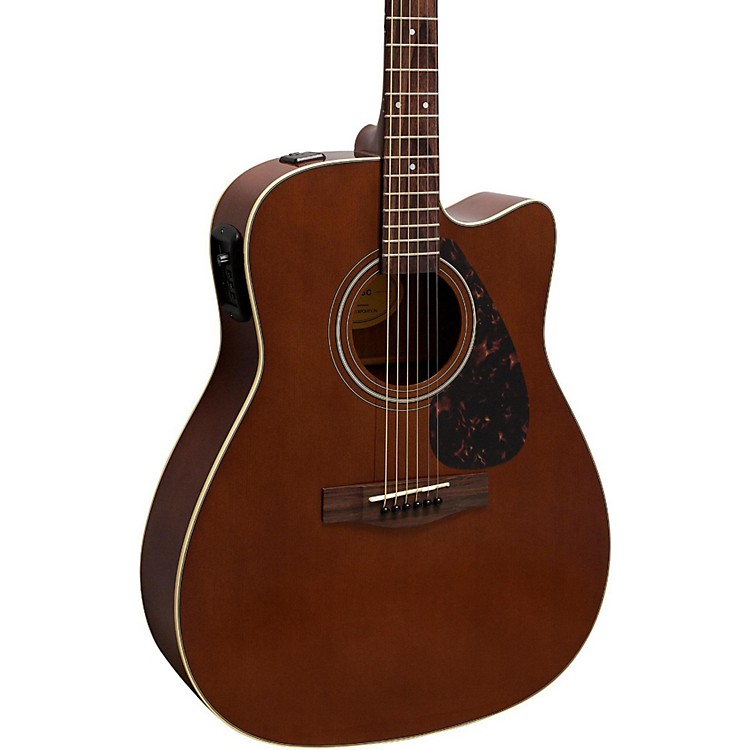 Yamaha FX370C Acoustic-Electric Guitar Dark Tinted Natural