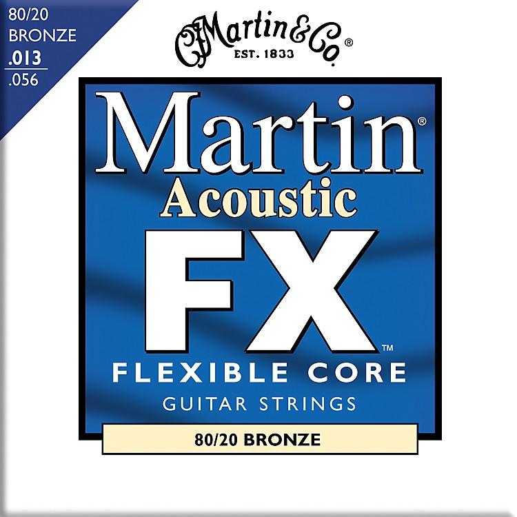 MartinFX650 80/20 Bronze Acoustic Medium Guitar Strings