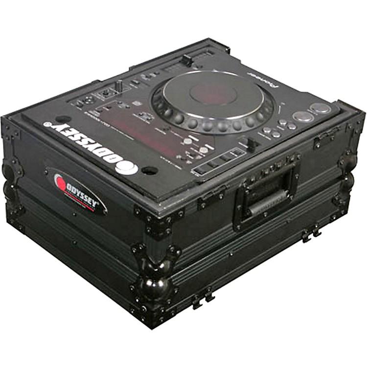 OdysseyFZCDJBL ATA Black Label Coffin for CD Players