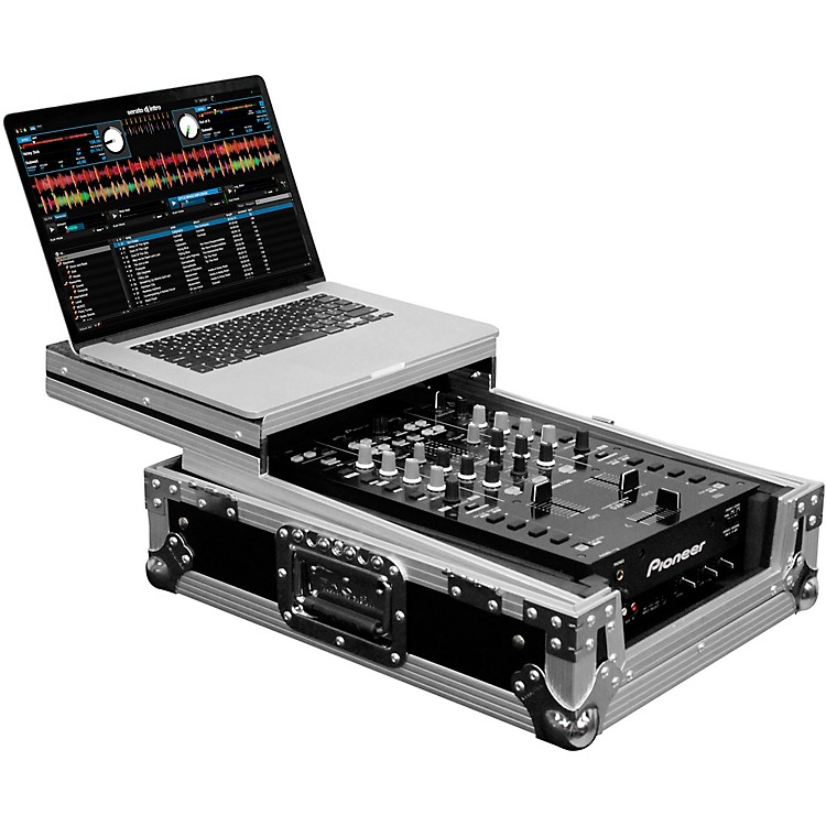 Odyssey FZGS10MX1 Universal 10 in. Format DJ Mixer Case With Glide Platform