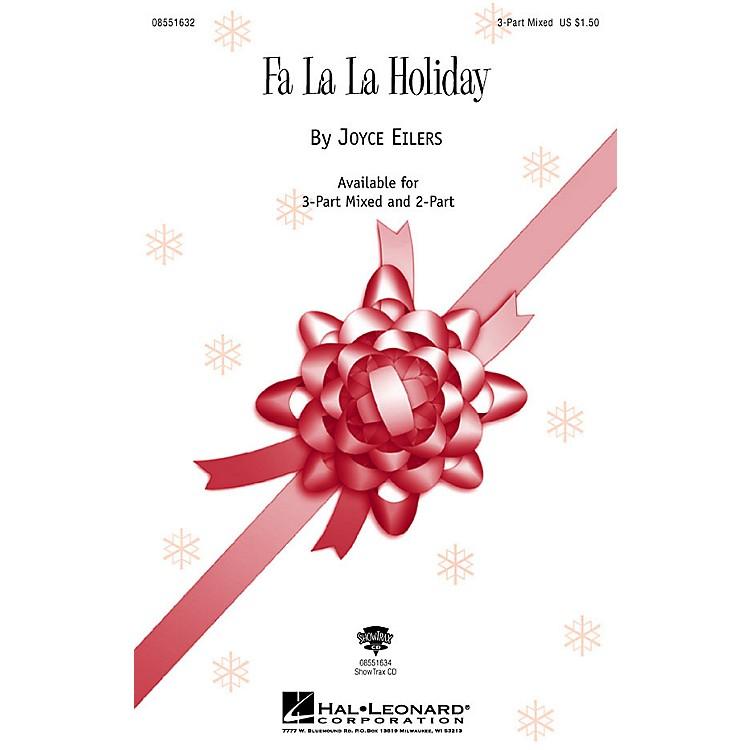 Hal LeonardFa La La Holiday 3-Part Mixed composed by Joyce Eilers