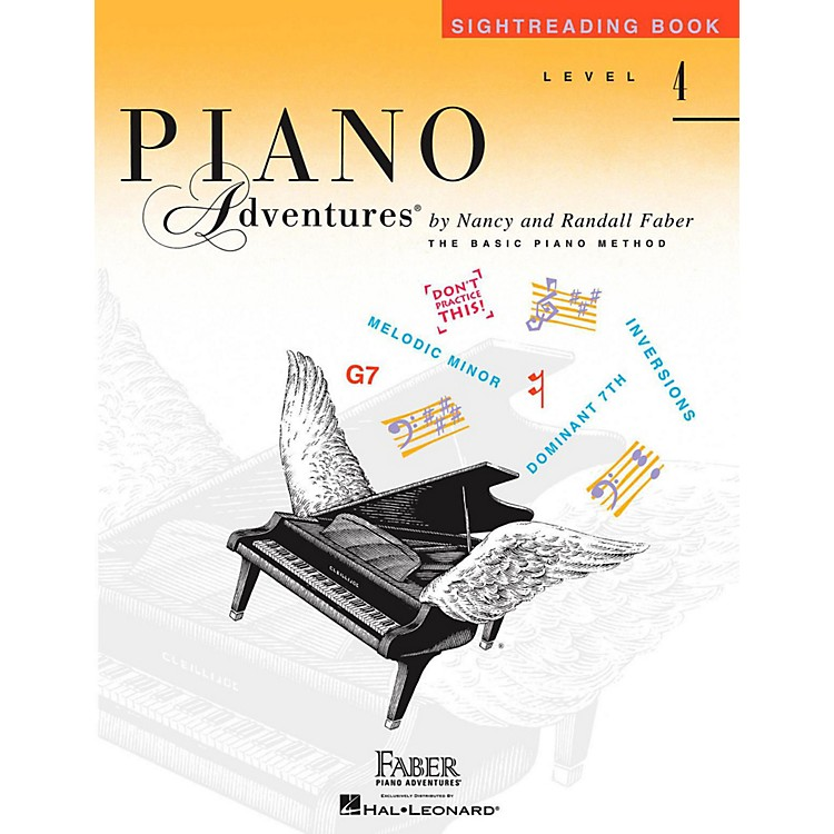 Faber Piano Adventures Faber Piano Adventures Level 4 - Sightreading Book