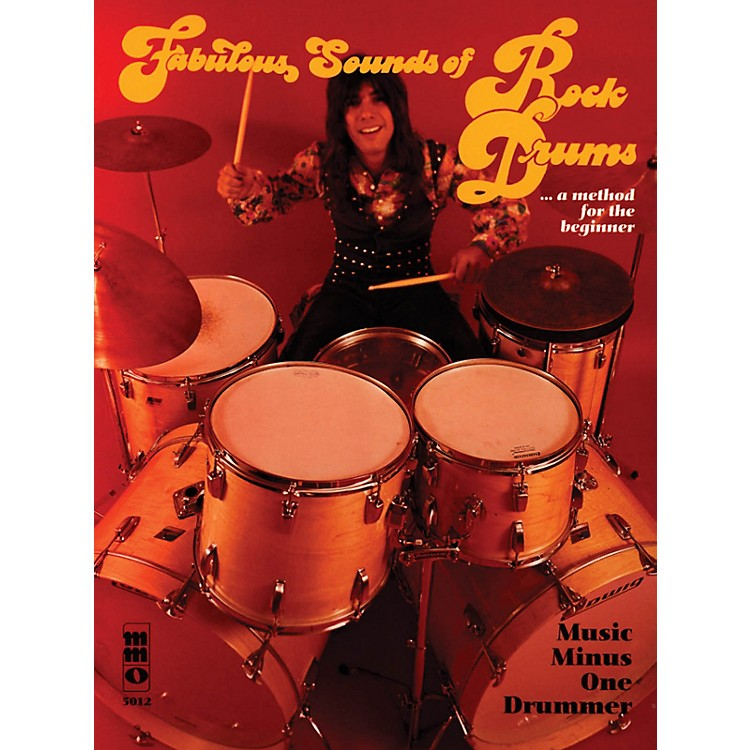 Music Minus OneFabulous Sounds of Rock Drums Music Minus One Series Softcover with CD Performed by Mike Ricciardella