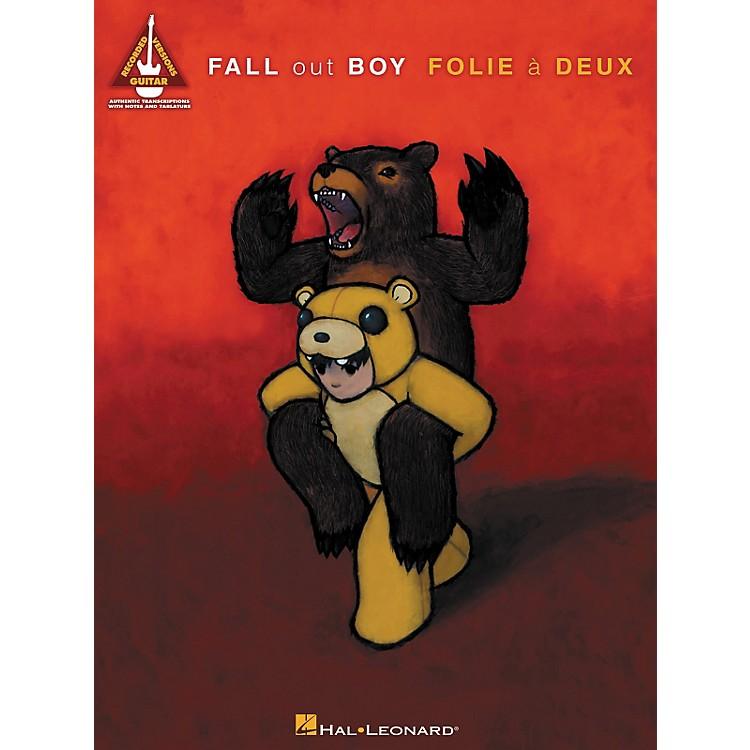 Hal LeonardFall Out Boy - Folie A Deux Guitar Tab Songbook