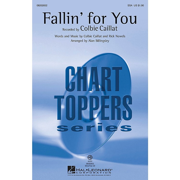 Hal Leonard Fallin' for You SSA by Colbie Caillat arranged by Alan Billingsley