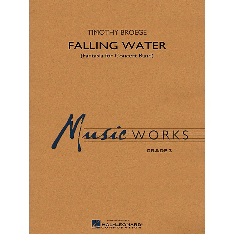 Hal Leonard Falling Water Concert Band Level 3