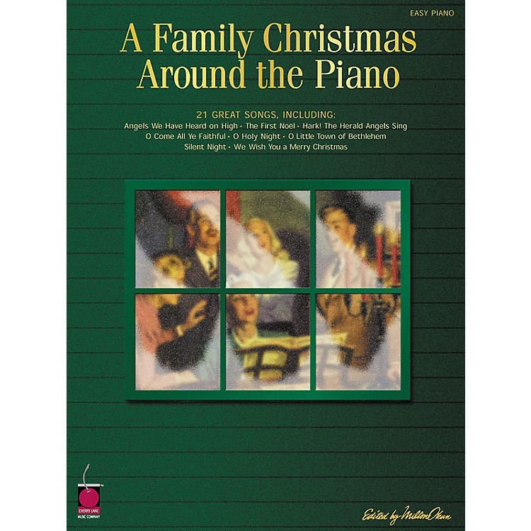 Cherry Lane Family Christmas Around The Piano For Easy Piano