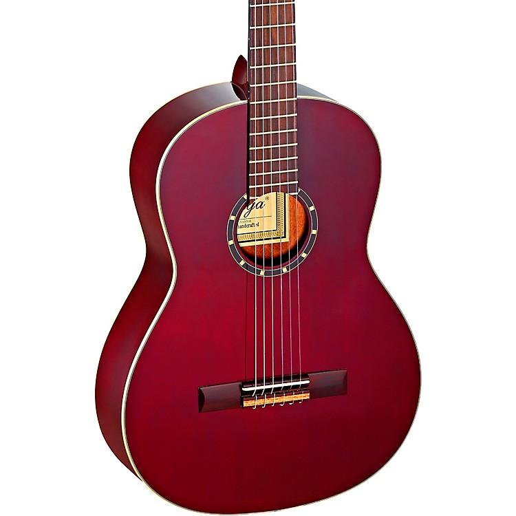 OrtegaFamily Series Pro R131SNWR Slim Neck Classical GuitarTransparent Wine Red