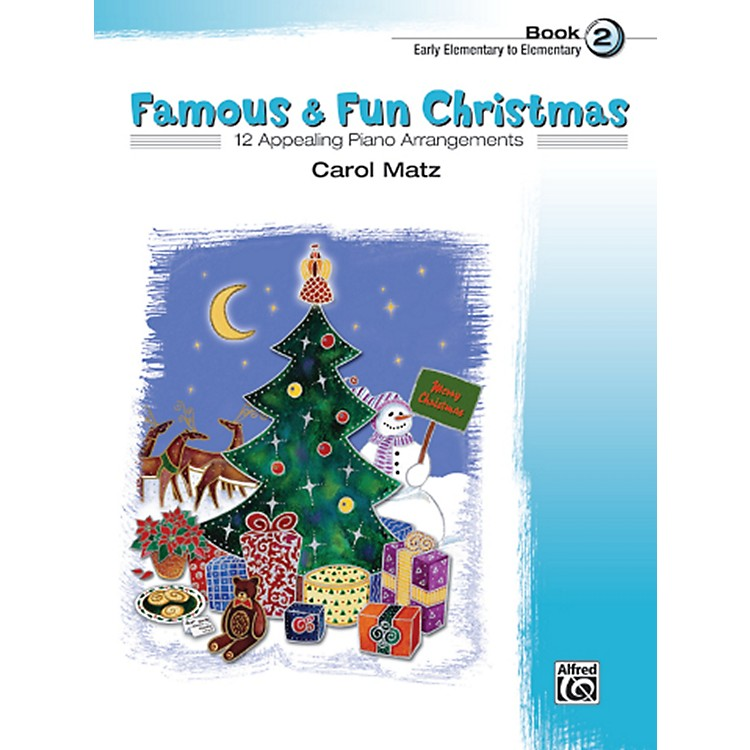 Alfred Famous & Fun Christmas Book 2