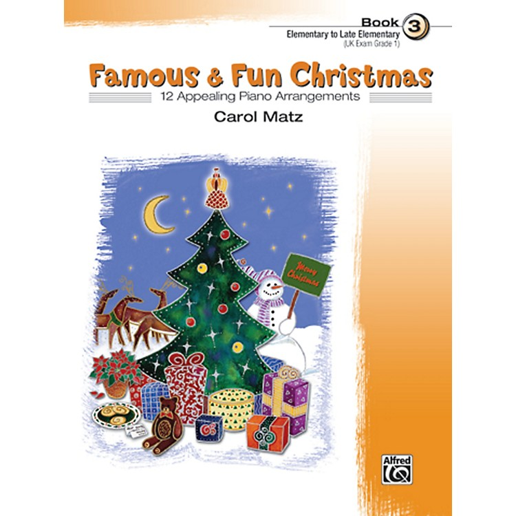 AlfredFamous & Fun Christmas Book 3