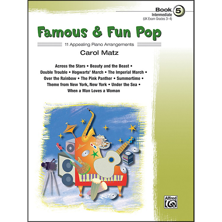 Alfred Famous & Fun Pop Book 5