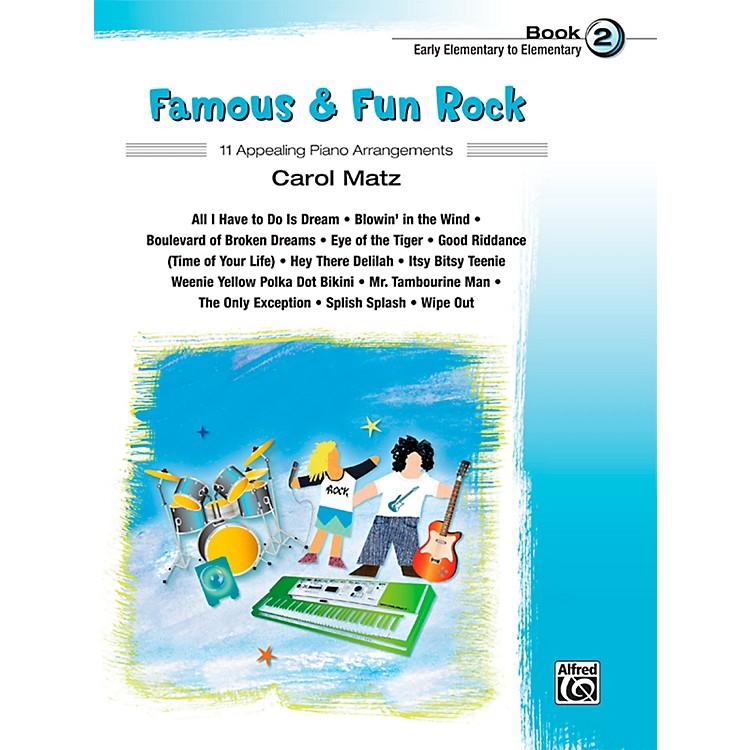 AlfredFamous & Fun Rock, Book 2