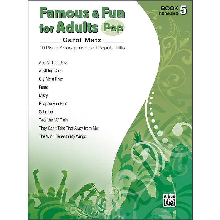 AlfredFamous & Fun for Adults Pop Book 5 Piano
