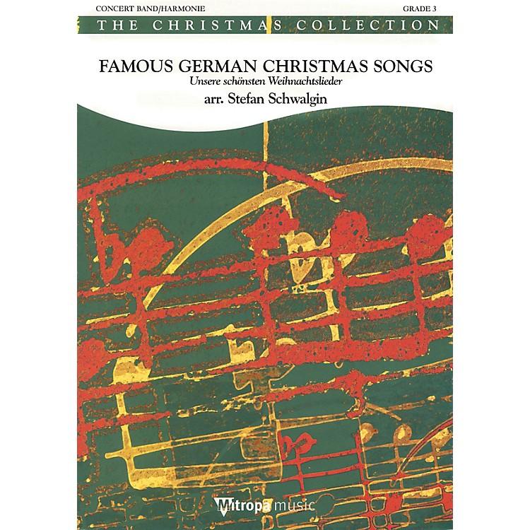 Mitropa MusicFamous German Christmas Songs Full Score Concert Band Level 4 Arranged by Stefan Schwalgin