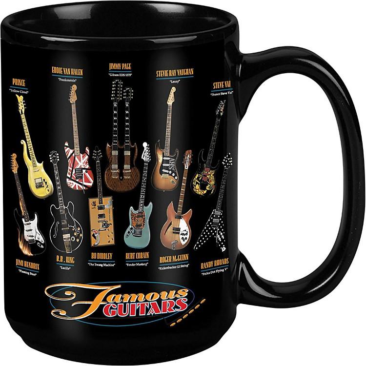 TabooFamous Guitars Black Mug 15 oz