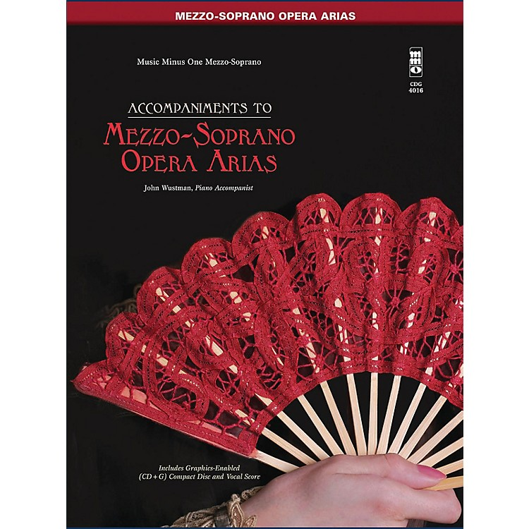 Music Minus OneFamous Mezzo-Soprano Arias Music Minus One Series Softcover with CD  by Various