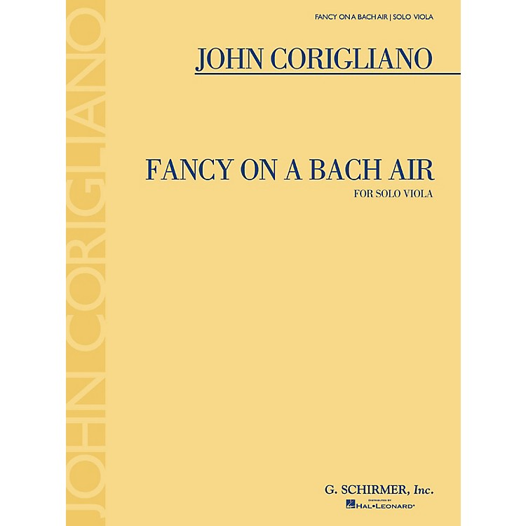 G. SchirmerFancy on a Bach Air (for Viola Solo) String Series Softcover