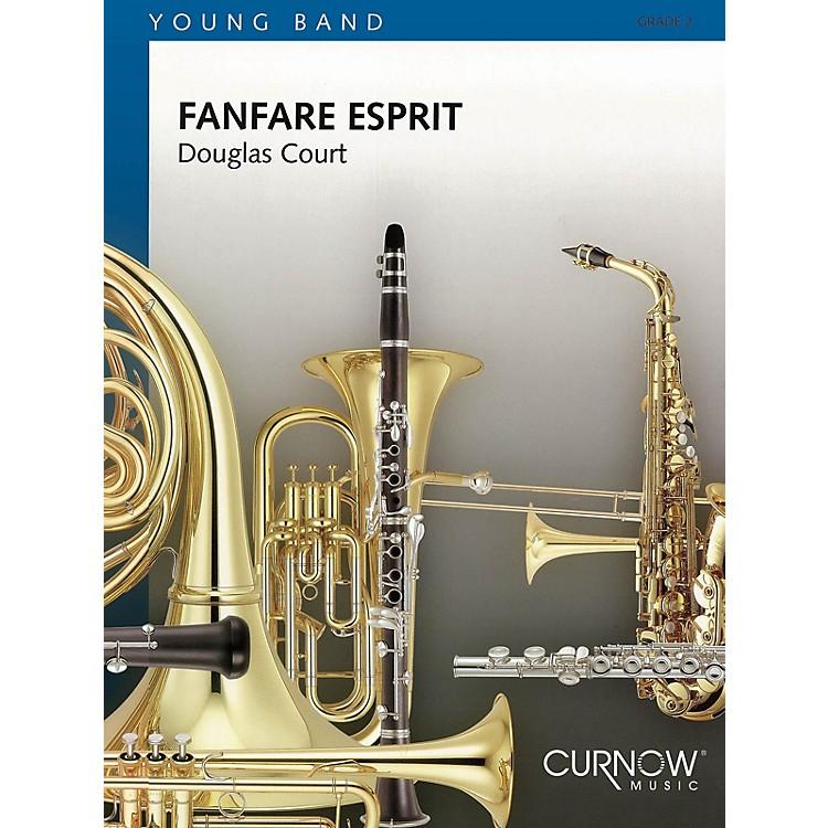 Curnow MusicFanfare Esprit (Grade 2 - Score and Parts) Concert Band Level 2 Composed by Douglas Court