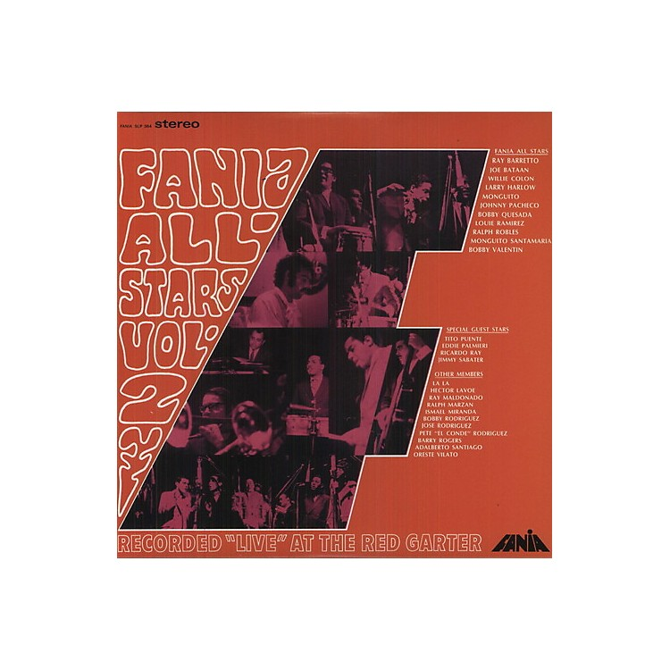 AllianceFania All-Stars - Live At The Red Garter, Vol. 2