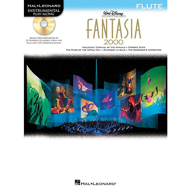 Hal LeonardFantasia 2000 For Flute - Instrumental Play-Along Book/CD