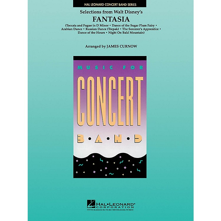 Hal Leonard Fantasia, Selections from Concert Band Level 4 Arranged by James Curnow