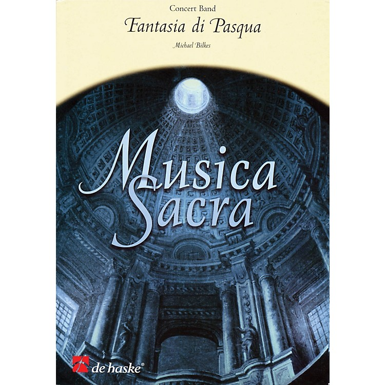 De Haske Music Fantasia di Pasqua Full Score Concert Band Level 2.5 Composed by Michael Bilkes