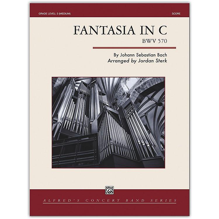 AlfredFantasia in C Conductor Score 3 (Medium)
