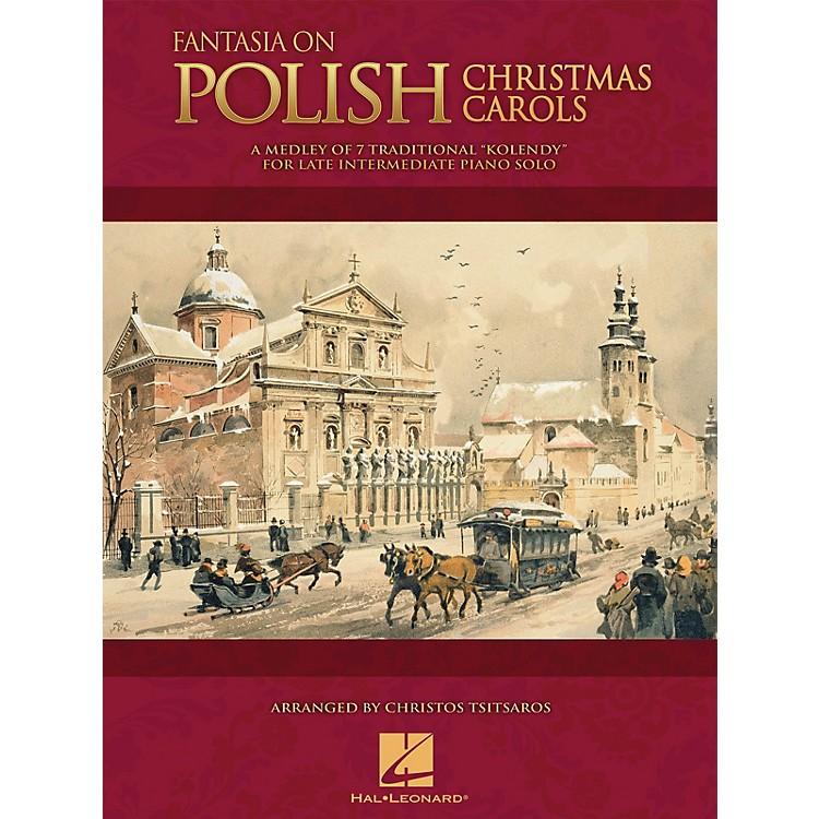 Hal LeonardFantasia on Polish Christmas Carols Educational Piano Solo Series Book (Level Late Inter)