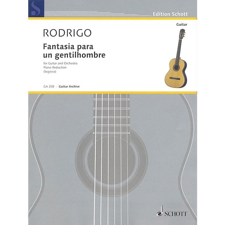 SchottFantasia para un Gentilhombre (1954) (Guitar and Piano) Schott Series