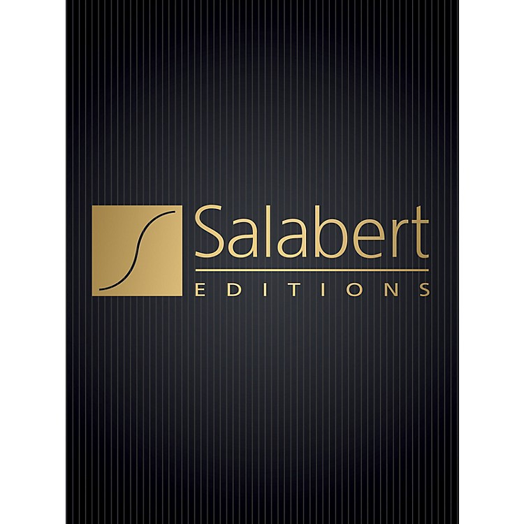 Editions SalabertFantasie (Flute and Piano) Woodwind Solo Series Composed by Phillipe Gaubert