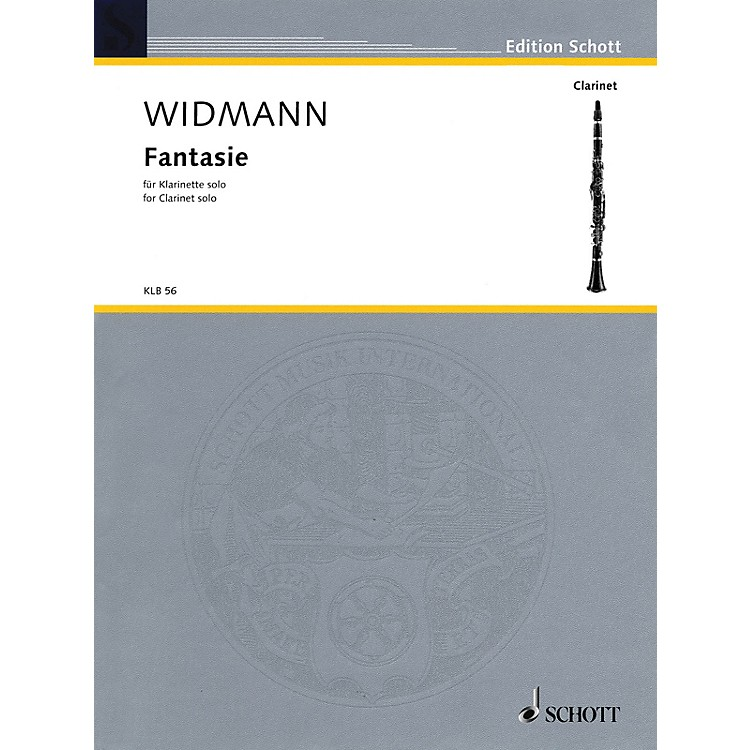 Schott Fantasie (for Solo Clarinet) Schott Series