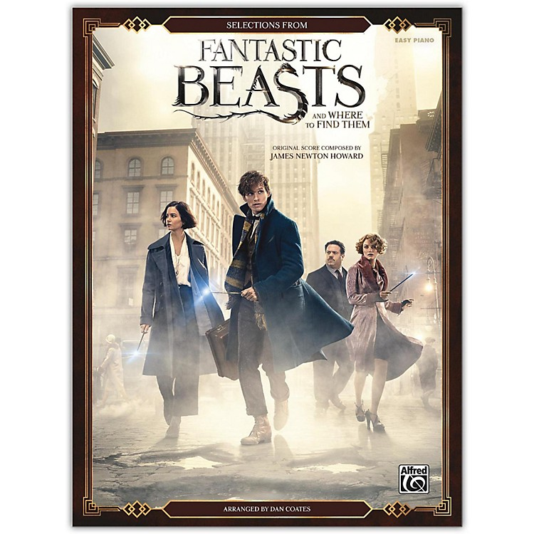 AlfredFantastic Beasts and Where to Find Them, Selections from Easy Piano