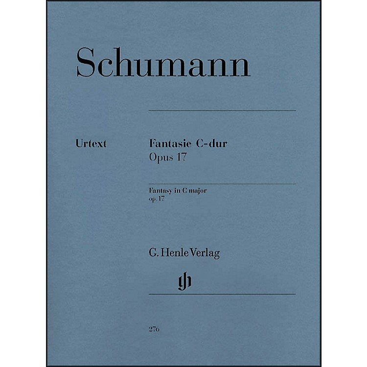 G. Henle VerlagFantasy C Major Op. 17 By Schumann