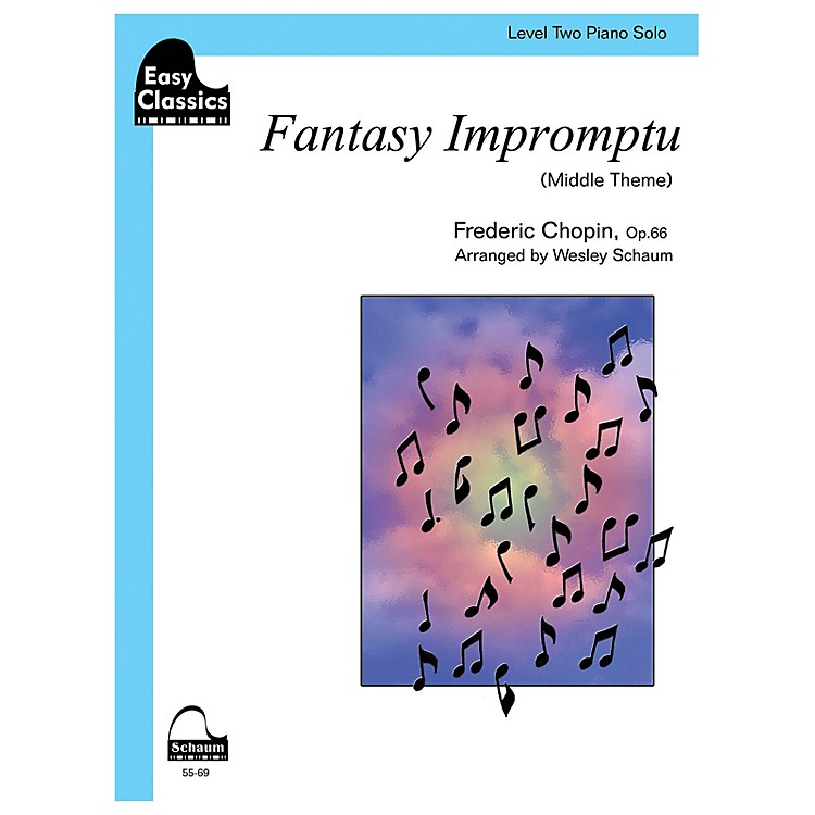 SCHAUM Fantasy Impromptu Educational Piano Series Softcover